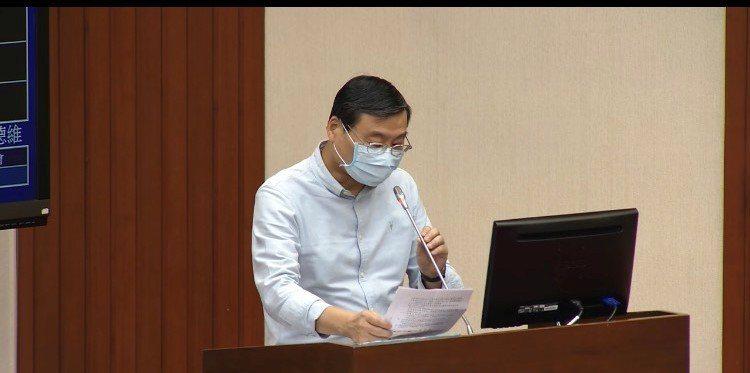 藍委曾銘宗建議,疫情嚴峻,希望金管會研議股東會是否延後。(photo by 直播截圖)
