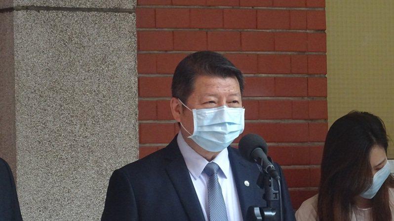 國防部副部長張哲平。記者徐偉真/攝影