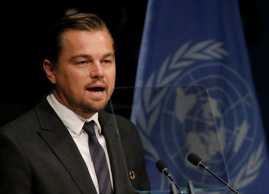 近年致力於環保事業的知名影星李奧納多宣布一項高達4300萬美元(約新台幣12億)...