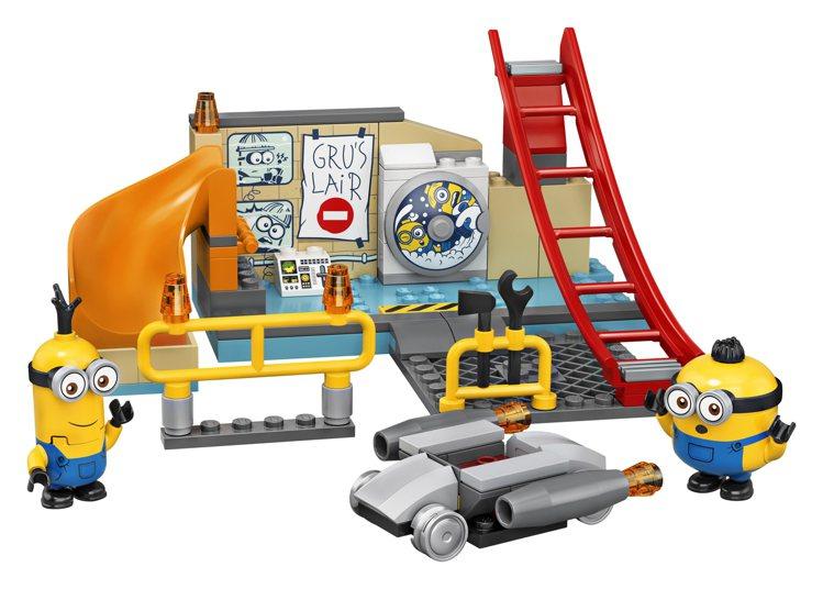 75546 LEGO® Minions in Gru's Lab組。圖...