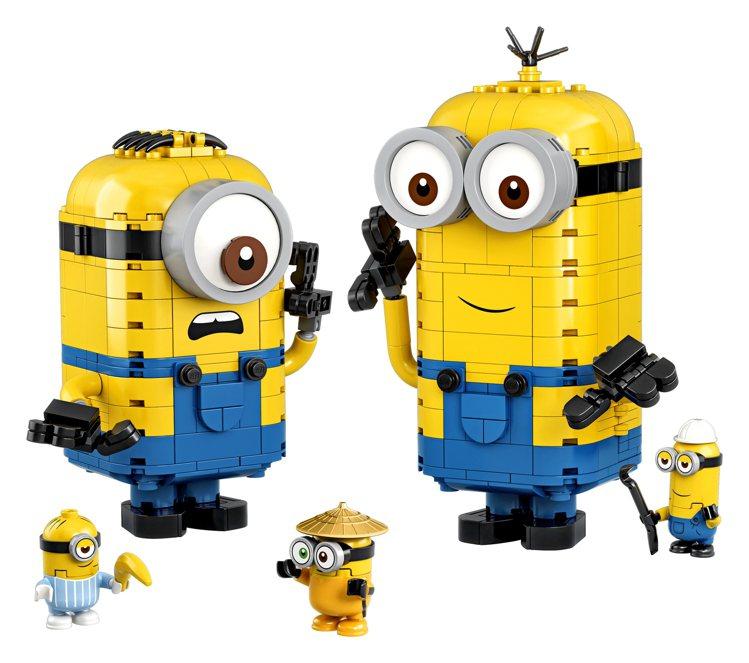 75551 LEGO® Minions Brick-built Minions ...