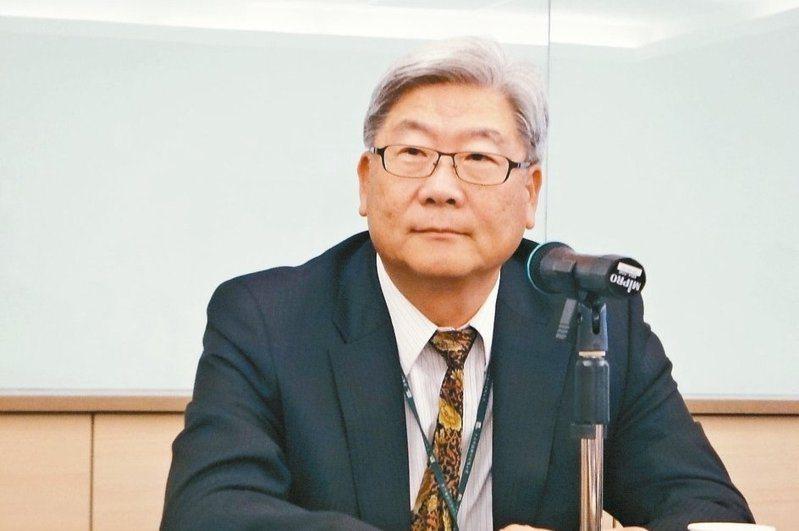 力成董事長蔡篤恭。圖/聯合報系資料照片