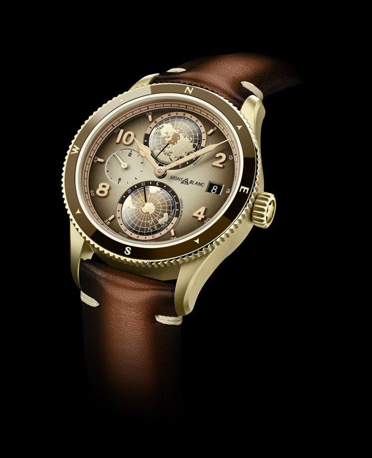 萬寶龍1858系列Geosphere世界時區手表,限量1,858只,20萬5,8...