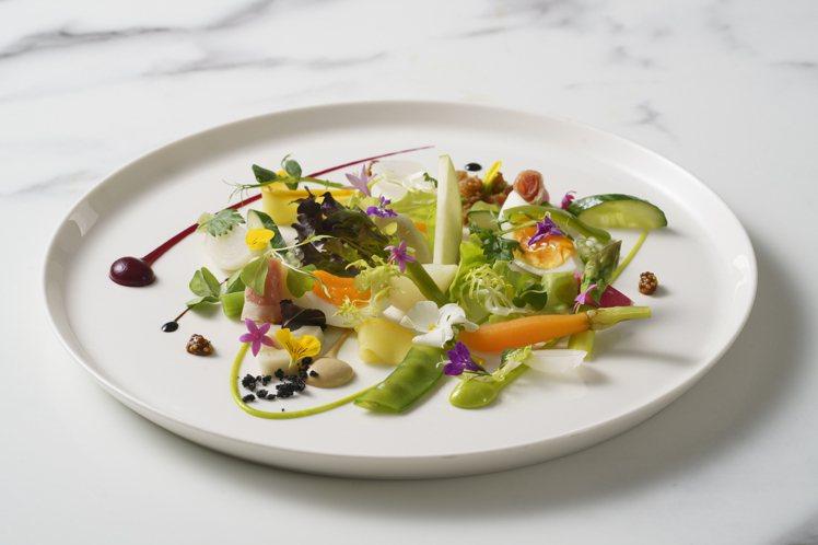 綠沙拉。圖/MiraWan提供。