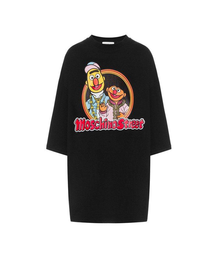 伯特與恩尼T-shirt式洋,18,300元。圖/MOSCHINO提供