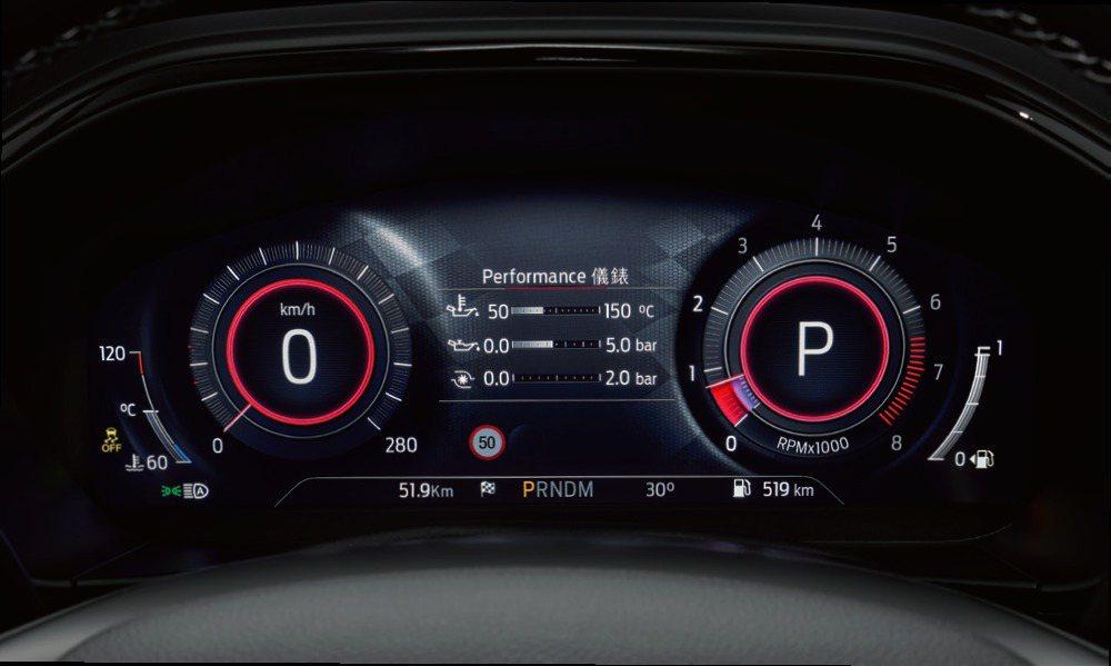 Focus ST Wagon – SLS Edition配置12.3吋全彩LCD...