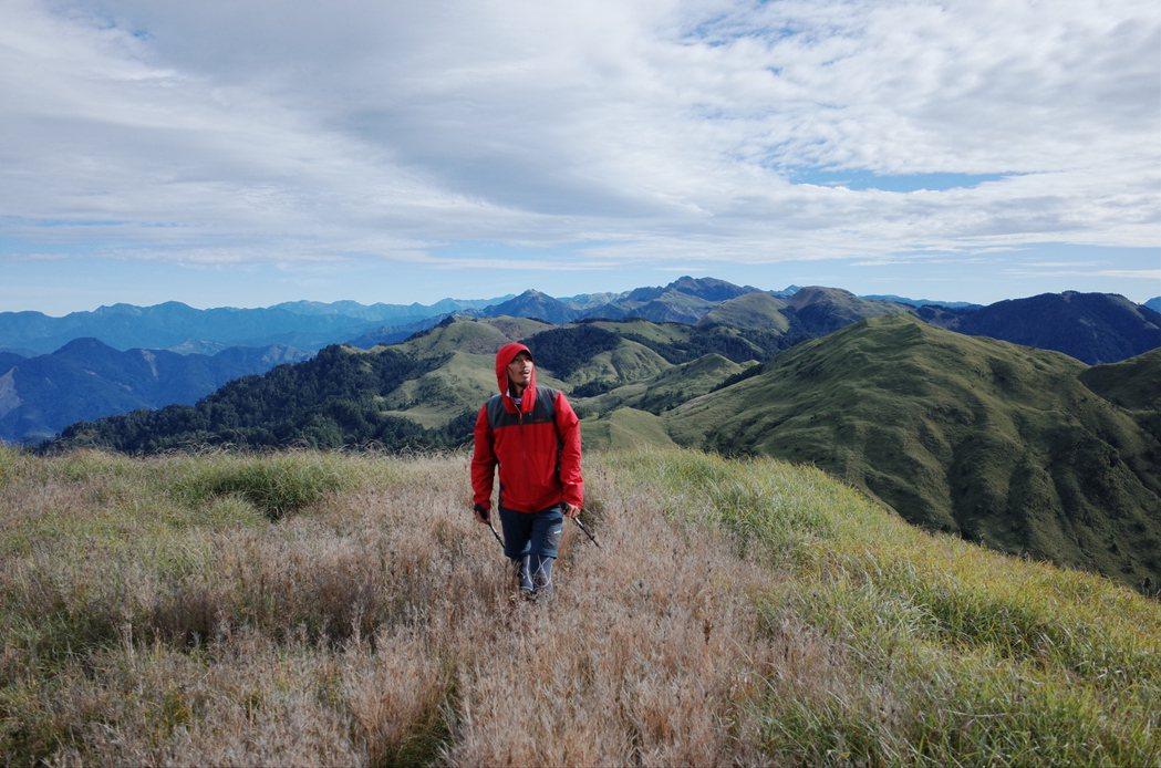 邱承漢往山裡去,是一個重新開關的過程。圖/邱承漢提供
