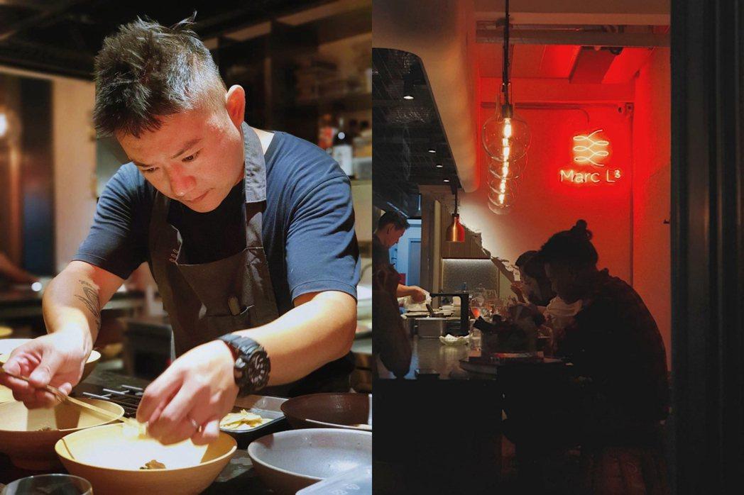 主廚Marc於澳洲三帽餐廳歷練,擅於表現法菜風味堆疊的精妙,做菜卻如其人爽快直接...
