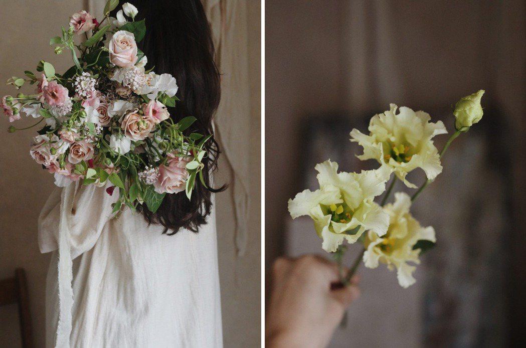 Chih Hsuan建議,疫情期間可以向花店線上訂購,或花藝工作室也有提供週花服...