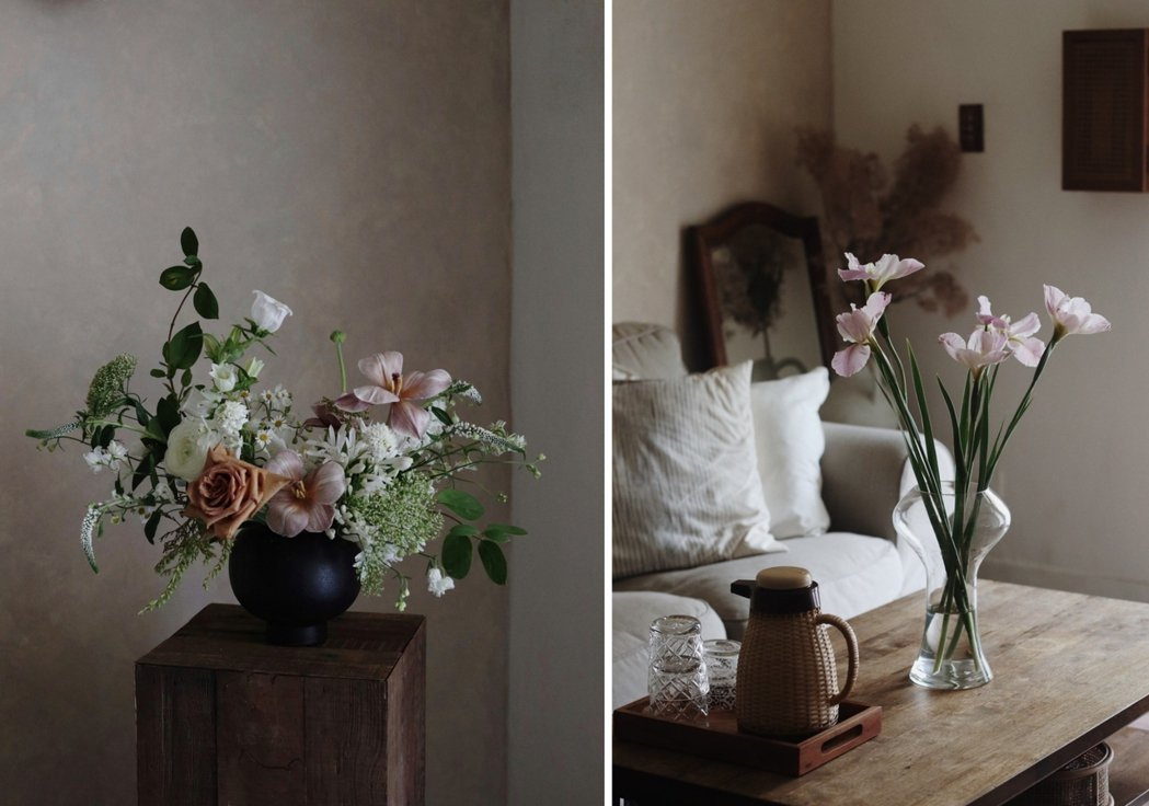 Chih Hsuan說:「花草教了我許多事。我從與花為伍的日常中理解到,我們所追...