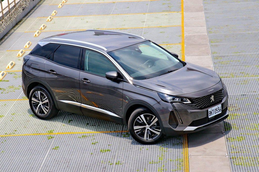 Peugeot 3008改款後獲得熱烈迴響。 記者陳威任/攝影