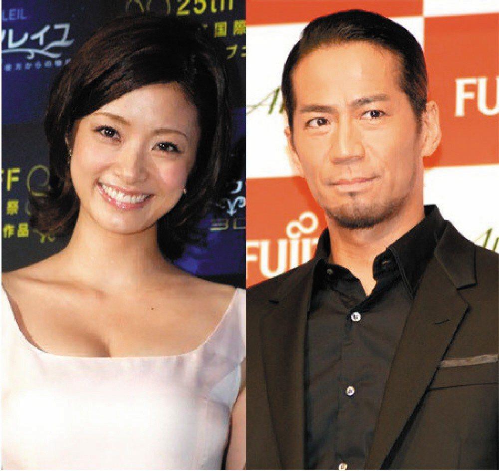 上戶彩與放浪兄弟團長HIRO於2012年結婚。 圖/擷自日本雅虎