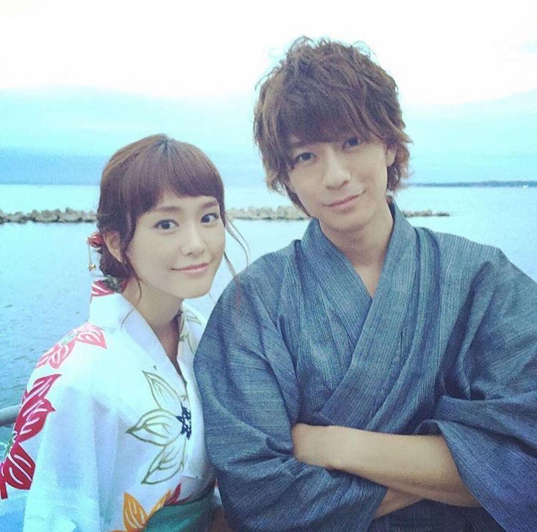 桐谷美玲和三浦翔平因合作「有喜歡的人」而感情躍進。圖/擷自IG