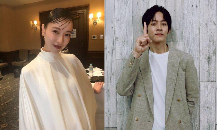 戶田惠梨香與松坂桃李是在2020年12月10日發表婚訊。圖/擷自IG、推特