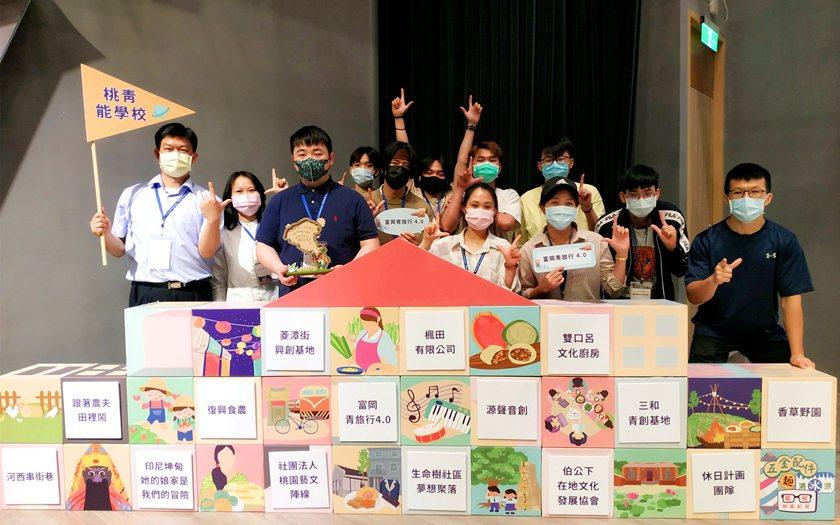 中國科大觀管系「富岡青旅行4.0」團隊。 校方/提供