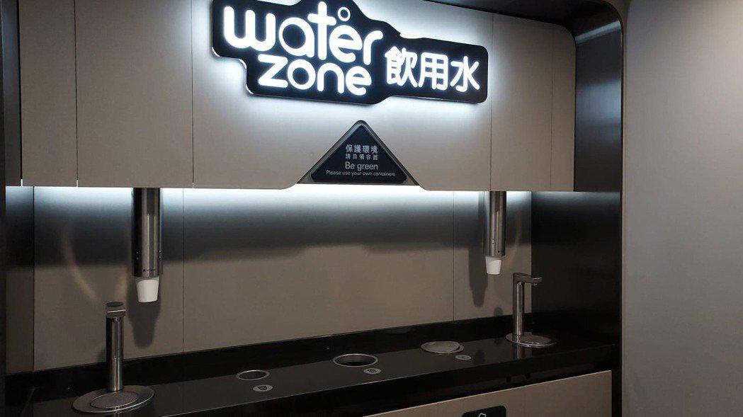 香港國際機場裝設廚下型飲水機。      沛宸淨化科技/提供 沛宸淨化科技/提供