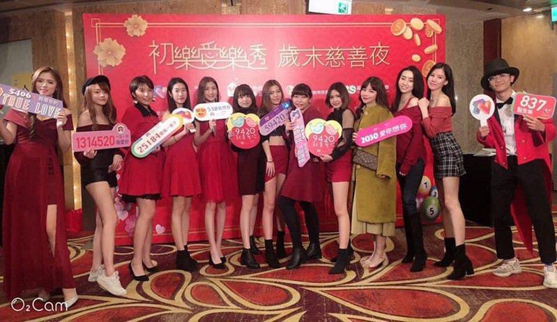 圖:國民美少女公司直播主群。