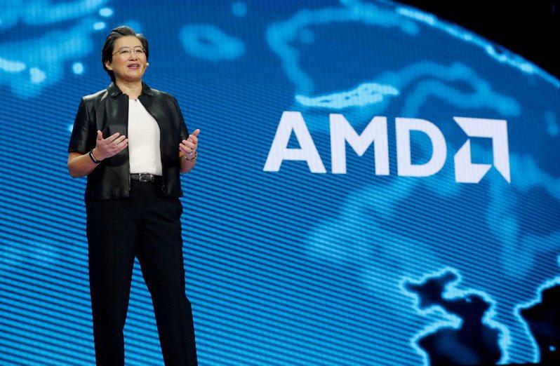 超微(AMD)執行長蘇姿丰。圖/路透