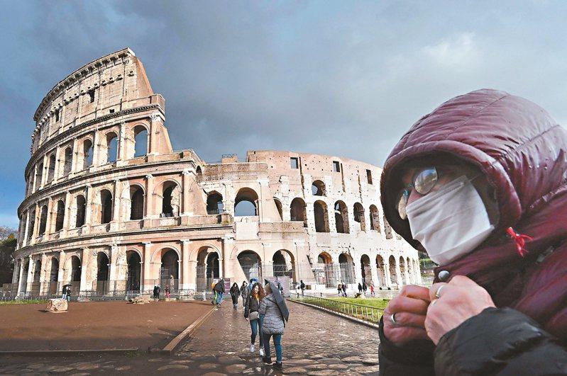 義大利封鎖一年多下來,出現了產業大洗牌,疫情促成了另類宅經濟竄起,但也有頗多產業在疫情後「一病不起」。法新社
