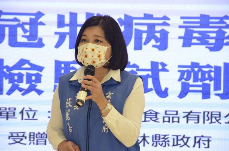 全國三級防疫,雲林縣長張麗善表示,防疫視同作戰,政府及民眾仍須嚴陣以待。圖/本報資料照