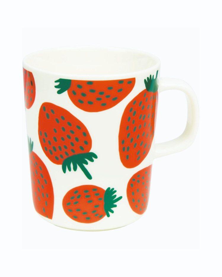 Mansikka印花馬克杯,890元。圖/Marimekko提供