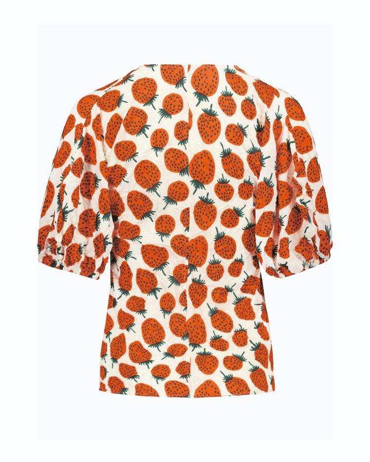 Mansikka印花上衣,9,190元。圖/Marimekko提供