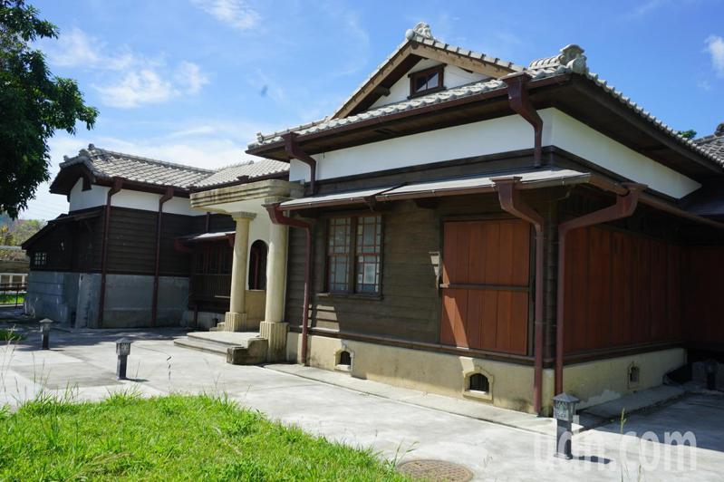 台灣鐵路局花蓮管理處處長官邸園區有80年歷史,被文化局列入歷史建築。記者王燕華/攝影