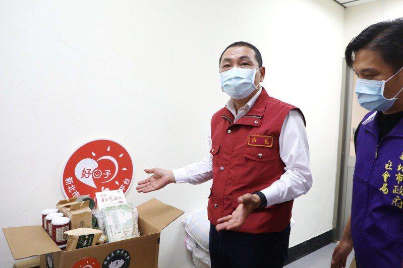 新北市長侯友宜說,中央趕快採購疫苗讓民眾可以安全。圖/新北新聞局提供