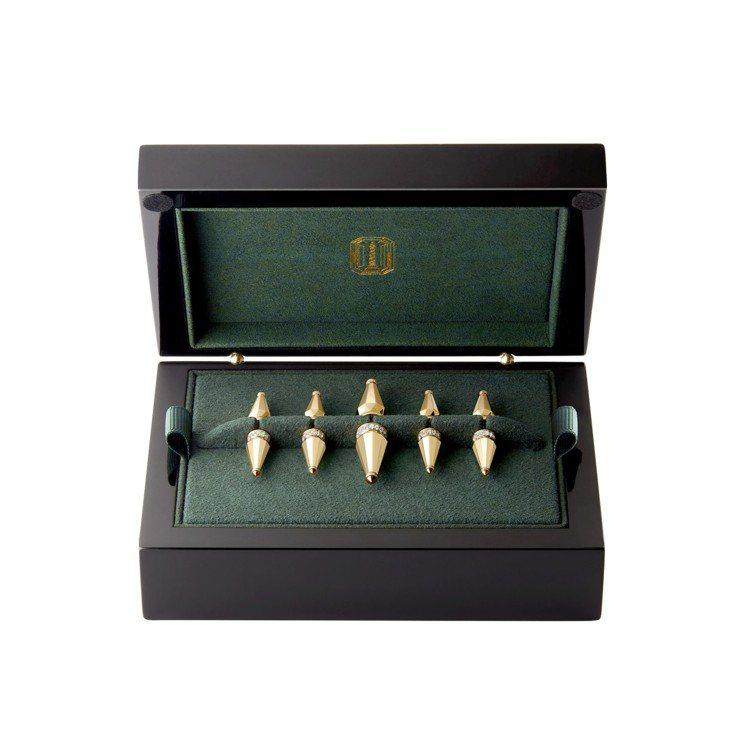 Boucheron Jack系列胸針,黃金750、鑲嵌156顆圓鑽約1.24克拉...