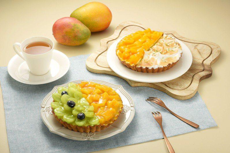 亞尼克推出生乳捲搭配不同水果派塔的組合優惠。圖/亞尼克提供