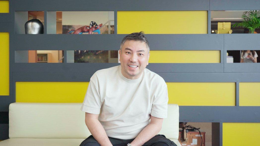 詹仁雄認為演藝事業不是中樂透,要長期投資。圖/伊林提供