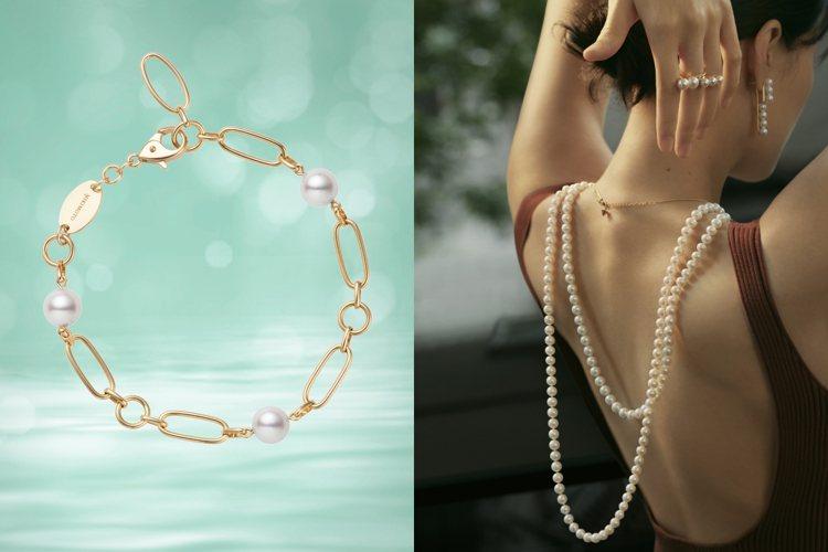 珍珠是6月誕生石。圖/MIKIMOTO、TASAKI提供
