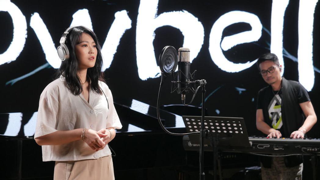 曹雅雯近來參與新型態網路節目「一曲入魂」。圖/Ninetai Audio 九太提...