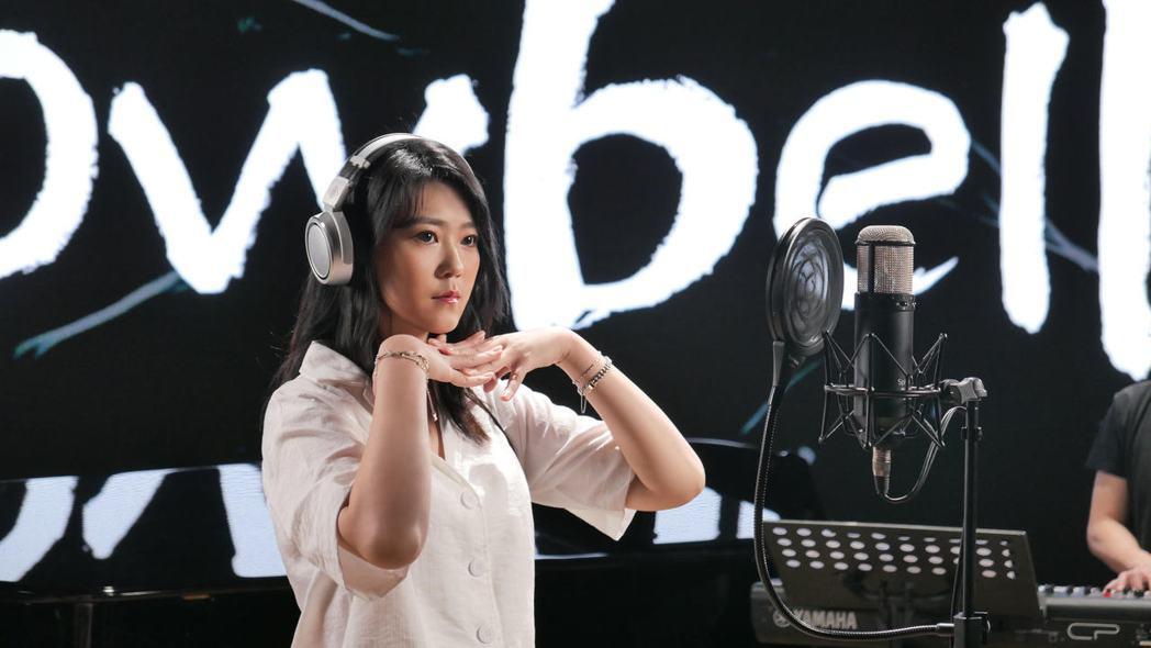 曹雅雯是第32屆金曲獎入圍大贏家。圖/Ninetai Audio 九太提供