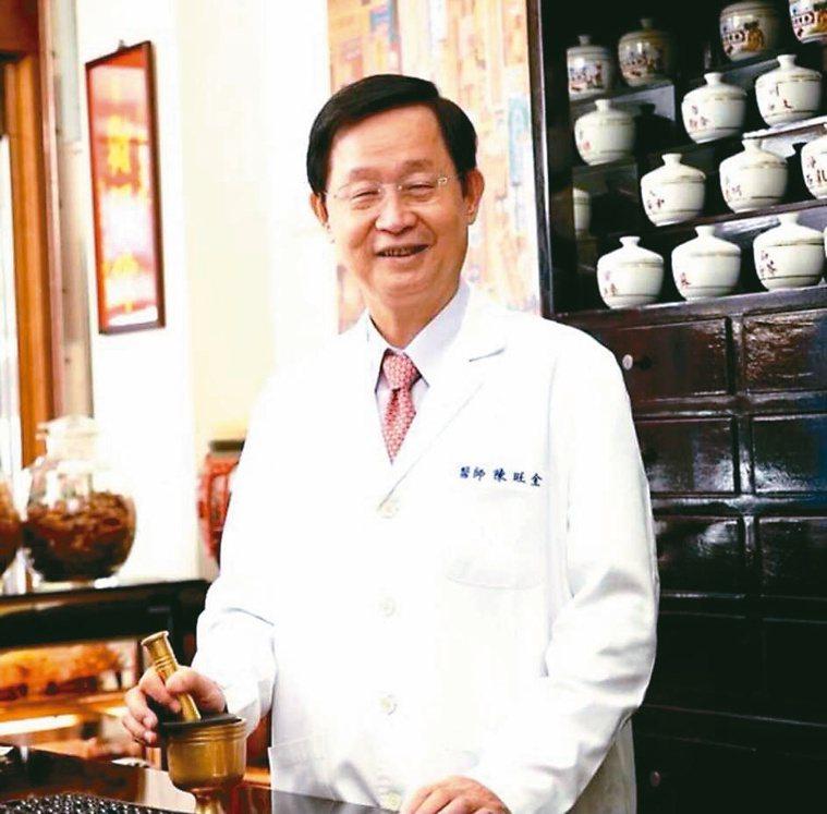 中醫師公會全聯會名譽理事長陳旺全。圖/陳旺全提供