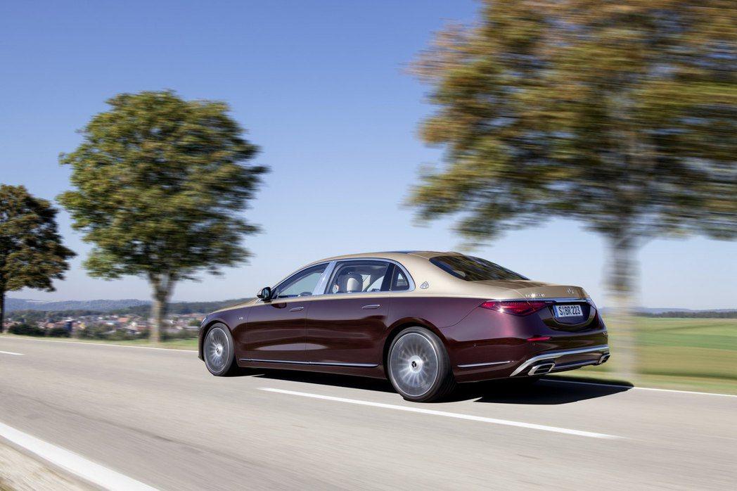 全新Mercedes-Maybach S 680 4MATIC。 摘自Merce...
