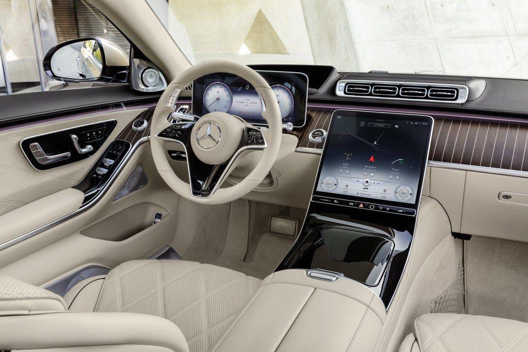全新Mercedes-Maybach S 680 4MATIC車室。 摘自Mer...
