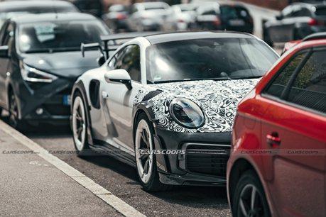 新世代TechArt GTstreetR間諜照曝光!究竟比911 Turbo S強多少?