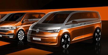 預告全新PHEV油電動力 VW福斯商旅T7 Multivan將於6月10日全球首發!