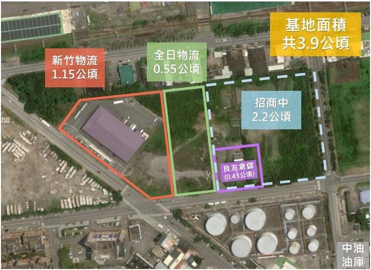 為服務業者建立物流配送基地,花蓮港務分公司特闢特定區域規劃為物流專區。   圖/花蓮港務分公司提供