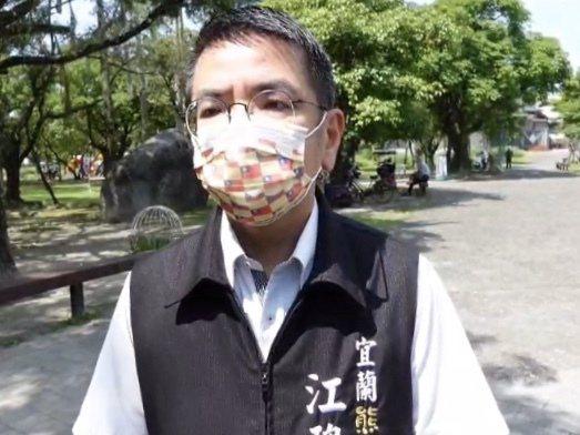 宜蘭市長江聰淵表示,現在不是錢的問題,而是疫苗如何取得。圖/宜蘭市公所提供