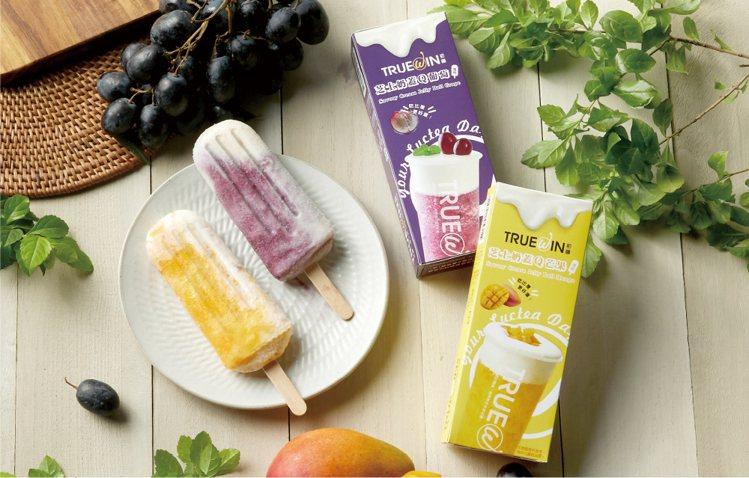 萊爾富與基隆發跡、主打鮮果系列的飲品店「TrueWin初韻」攜手推出兩款獨家聯名...