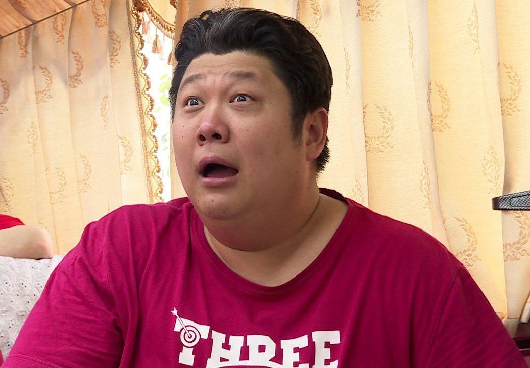 哈孝遠看到黃豪平落淚當場傻眼。圖/台視提供