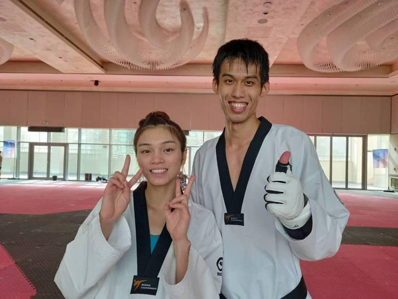 劉威廷(右)、蘇柏亞(左)先後搶下東京奧運參賽門票。圖/劉祖蔭提供