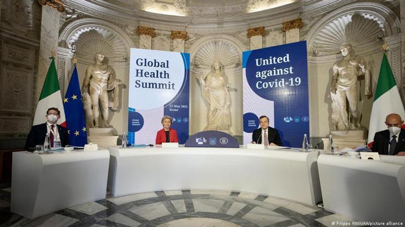 G20全球健康峰會週五(5月21日)以線上會議形式舉行。義大利擔任本次會議主席國,與會的20國領導人商討如何合作對抗已經持續一年多的新冠疫情。圖/德國之聲中文網