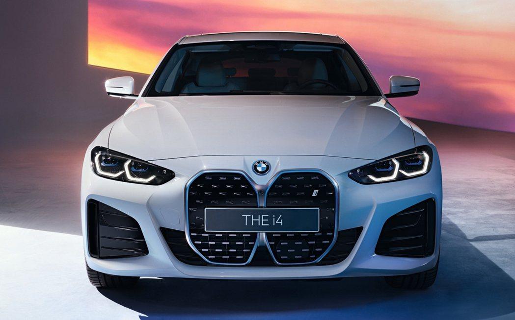搭載M Sport套件的BMW i4。 摘自BMW