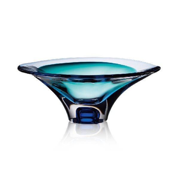KOSTA BODA雲饗缽(藍)/售價29,800元。圖/旺代提供