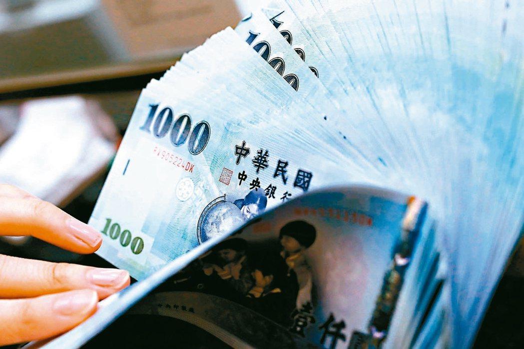 財政部公布今年前四月累計稅收5,999億元。(本報系資料庫)