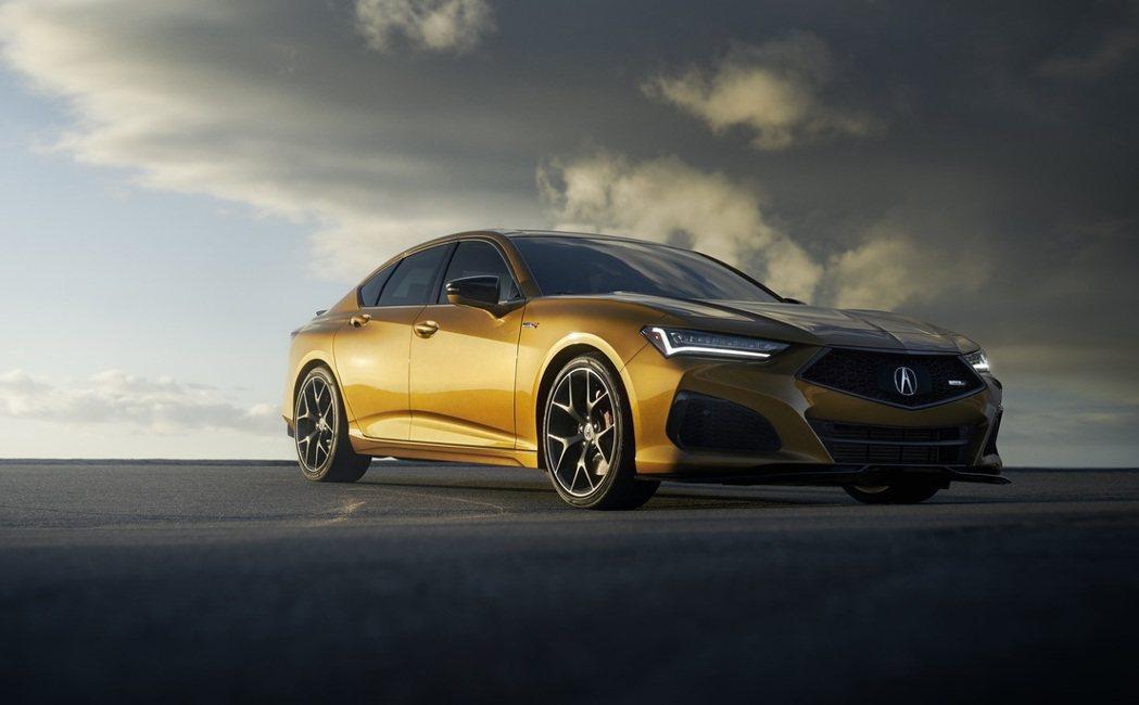 Acura TLX Type S起價為52,300美元。 圖/Acura提供