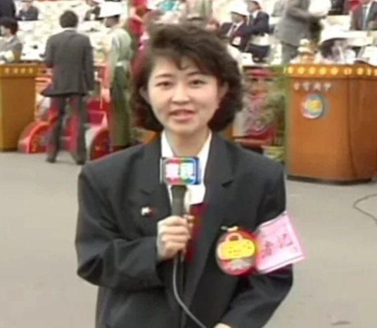台中市長盧秀燕年輕時曾任華視主播,也曾經出現在莒光園地節目中。圖/取自Dcard